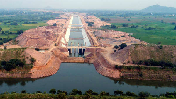 All the best for the inauguration of the largest lift irrigation project in the world ;nagarjuna