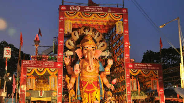This time our Vinayaka is 61 feet.!Sridvadashaditya named as Mahaganapati..!!