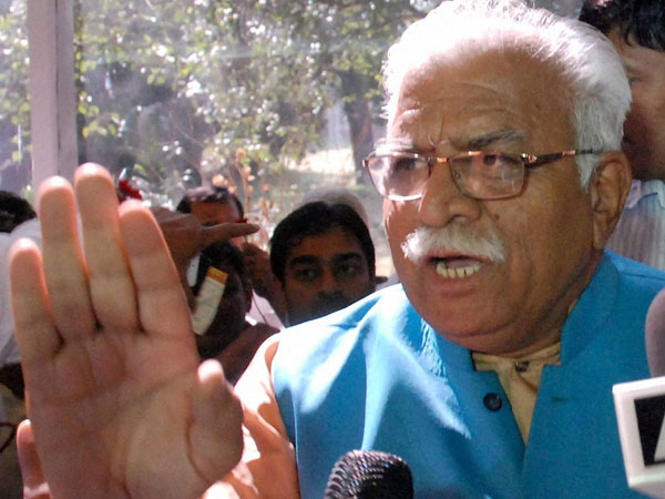 Khattar fumes over party worker for trying to take selfie
