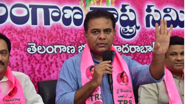 Where is the Eligibility for Congress to Speak about democracy? KTR Straight question..!!