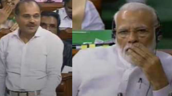 congress lok sabha floor leader adhir ranjan comments as modi salesman