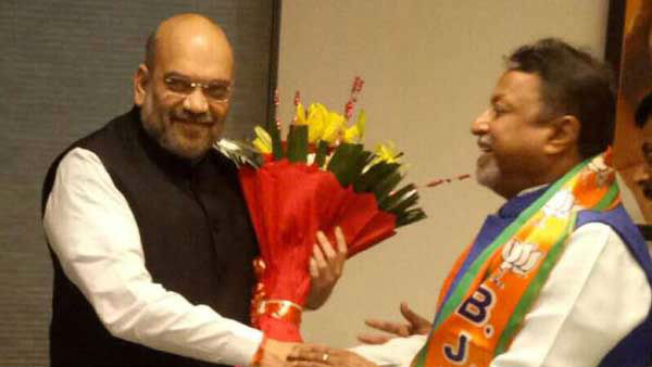 Complete anarchy in Bengal: BJP leader Mukul Roy writes to Amit Shah, asks MHA to step in