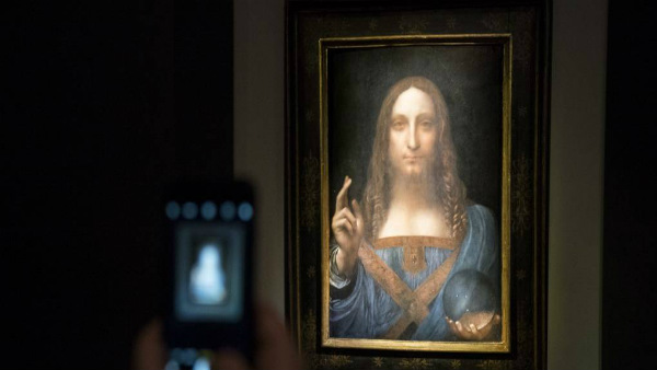 This is the worlds costliest painting found in Saudi Princes Ship