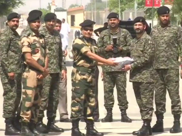 Ramadan: BSF personnel exchange sweets at borders with Pakistan, Bangladesh