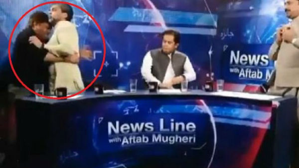 Pakistan TV debate turns violent after PTI leader attacks panellist
