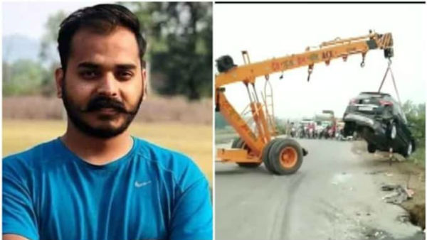 Uttarakhand Minister Arvind Pandeys son Ankur Pandey died in a car crash