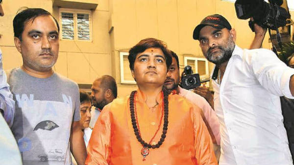 Pragya thakur finally attends court, says she has no knowledge on Malegaon blasts