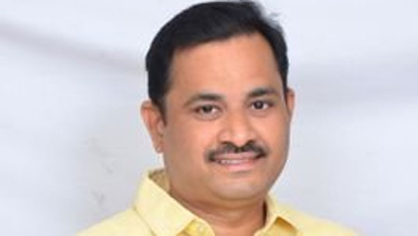 TDP leader and resigned for his TTD Board membership
