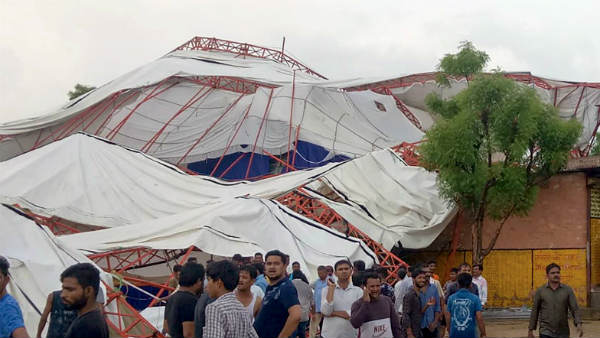 Tent collapsed in Rajasthans Barmer,14 killed several injured