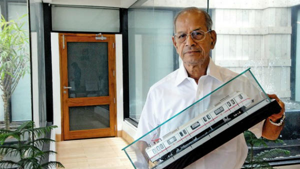 Sreedharan opposes Kejris proposal of free ride to women in Delhi metro
