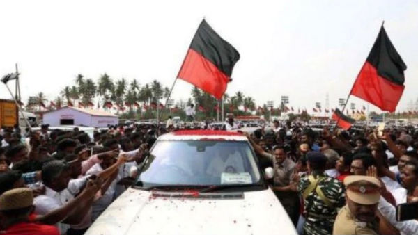 400 DMK workers arrested for protesting, demanding ministers resignation