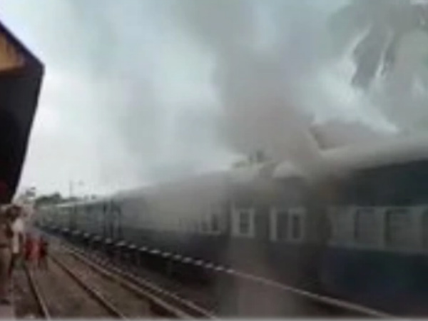coaches of Silchar-Trivandrum Express gutted in fire