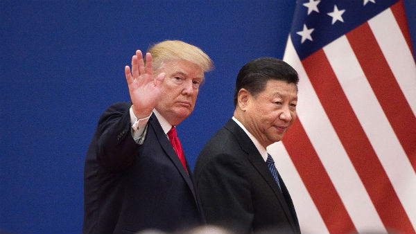 China-US unity.!Trump talks about trade taxes..!!