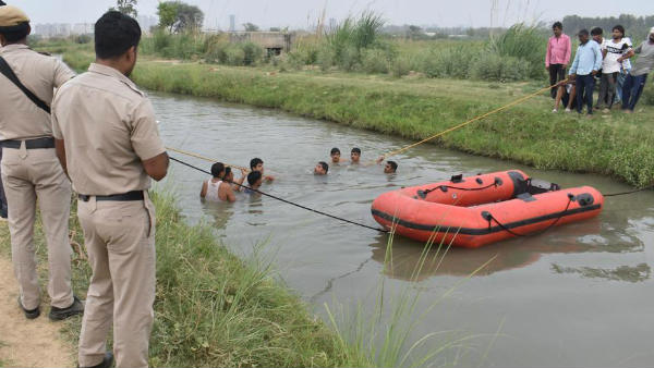 7 Children Dead After Vehicle Falls Into Canal In UP