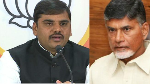 The BJP Mind game in AP .. He said that the TDP was split in and shocked chandrababu