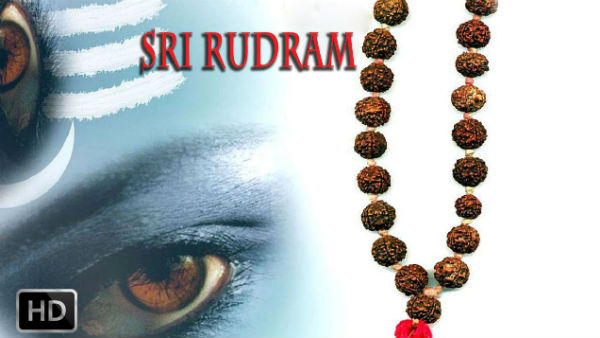 Satha Rudriyam Is Part Of Yajurveda