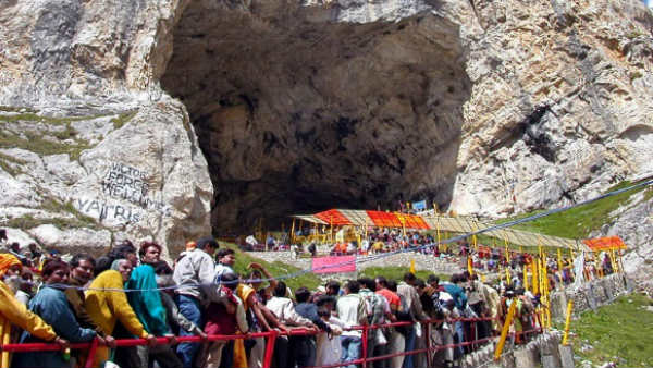 Jammu and Kashmir: Amarnath Yatra is suspended from Jammu route today