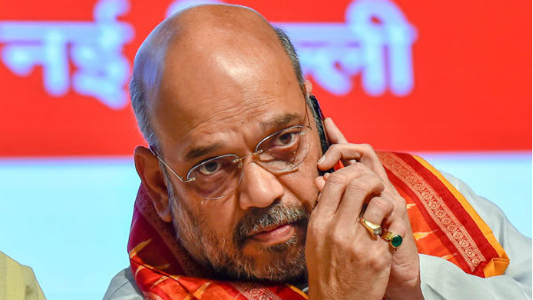 BJP Mla Alerts Cops About Letter With Bomb Threat to Amit Shah