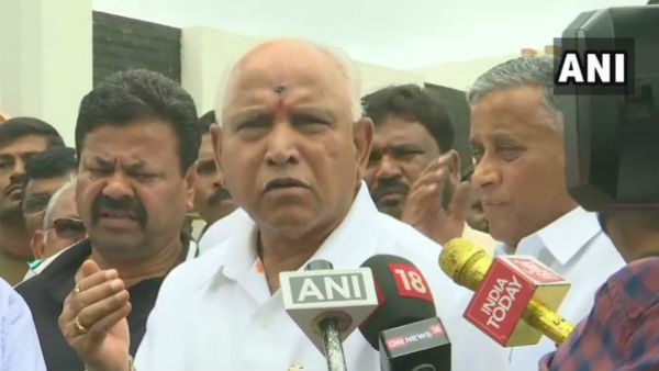 BJP president BS Yeddyurappa says, When there is no majority CM must resign,