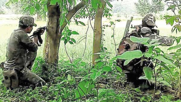 chhattisgarh encounter after visuals video