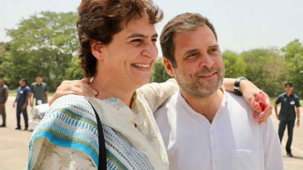 Rahul is going with his sister.!Priyankas trip to Amethi with Rahul..!!