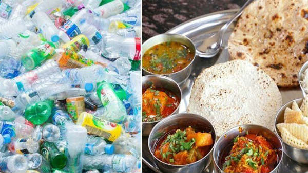 1 kg plastic waste will be offered a full meal