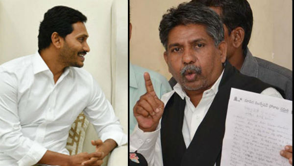 Locals dharna against YCP MLA.!Mandakrishna demands Jagans apologizy.!!