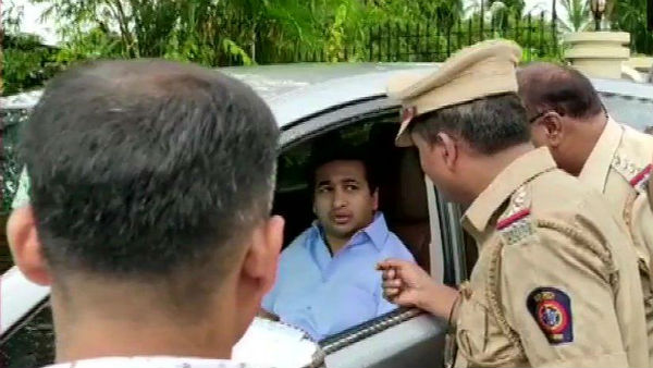 MLA Nitesh Rane and his supporters sent to judicial custody for 14 days