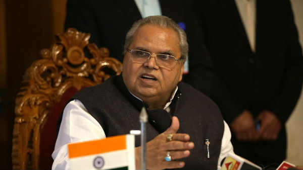 In Fit Of Anger J&K Governor clarifies on his comments