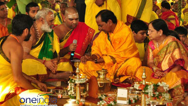 యాదాద్రి ఆలయంలో యాగనిర్వహణకు కసరత్తు