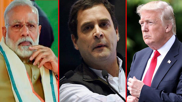 Trump and Kashmir: Rahul demands an answer from PM modi on Trumps Claims