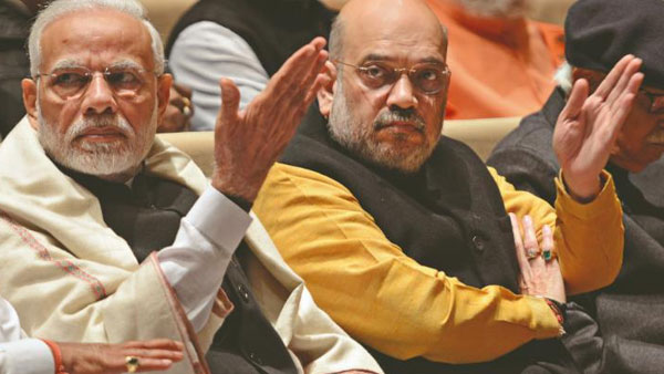 Modi,Shah breaks friendship.! BJP MP who has said the trick ..!!
