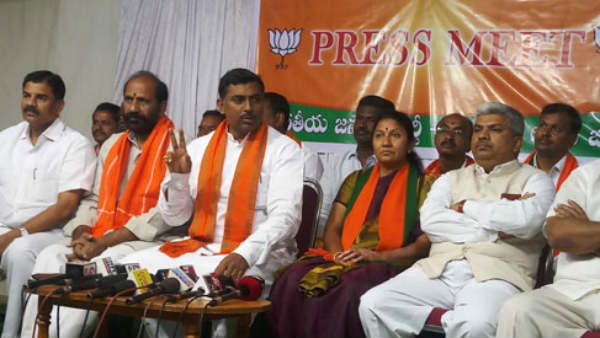 bjp fight the trs govt corruption says muralidhar rao