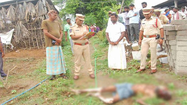 silly reason person murdered in brother hand in mancherial