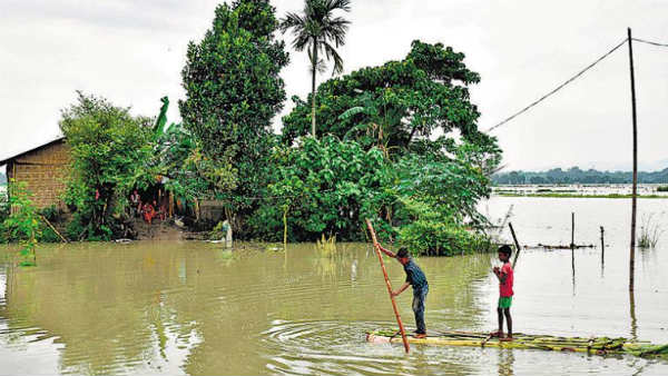 Assam flood situation worsens; 8.69 lakh people in 21 districts affected