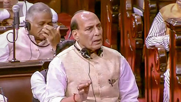It was Rahul Gandhi who set the trend of Resignations, Rajnath gives counter to congress