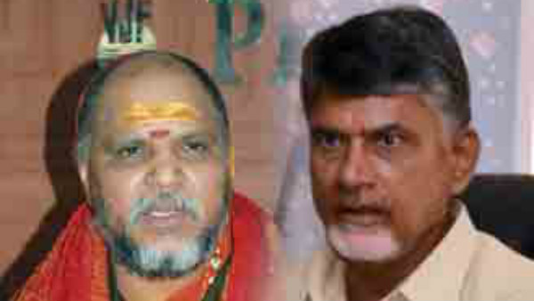 Swarupananda criticized TDP .. Swamy will ask Jagan to investigate on that fund misuse
