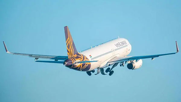 Vistara Airlines flight lands in Lucknow with just 10 minutes of fuel left