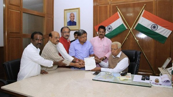 Karnataka Governor Vajubhai Vala directs Speaker to conduct floor test today