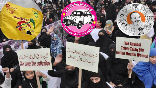 What Is Your Comment On Ycp Tdp Trs Opposing Triple Talaq Bill In Rajya Sabha