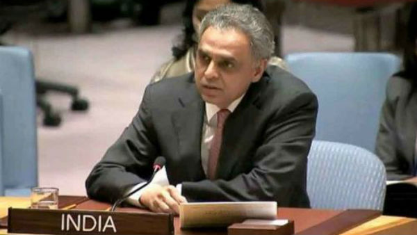 India S Un Envoy S Hand Of Friendship To Pakistani Journalis