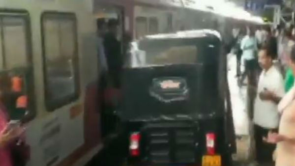 Man Drives Auto On Mumbai Railway Platform To Help Woman In Labour, Charged