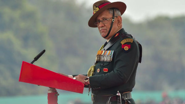 Army chief General Bipin Rawat to visit Srinagar today, to review preparedness of security forces