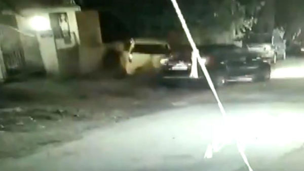 A woman driver damaged three cars with her car in Pune