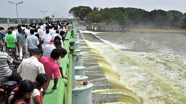Cauvery water regulatery board orderd to release cauvery water to Tamilnadu for next five days