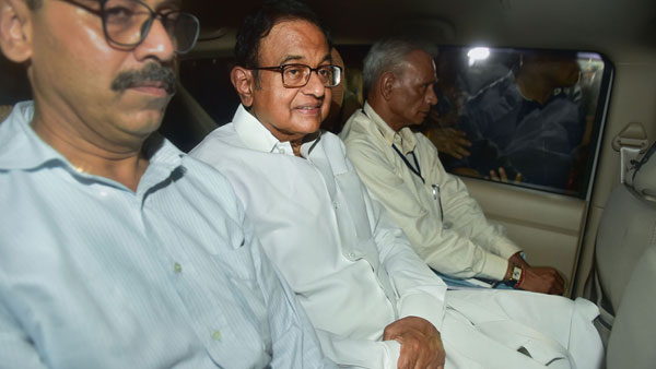 P Chidambaram lodged in same CBI complex he inaugurated- old videofootage
