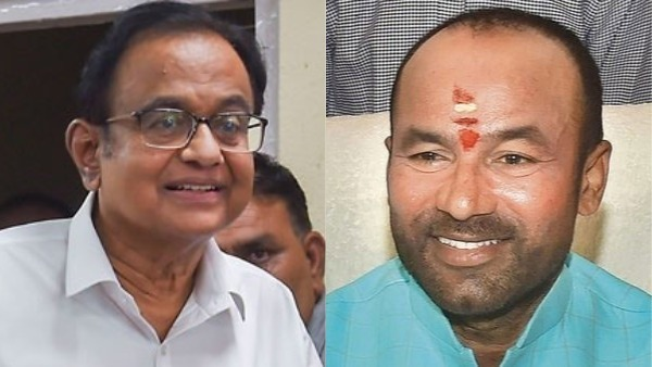 Union Mos Kishan reddy said that no role of government in p chidambaram arrest