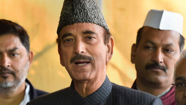 Ghulam Nabi Azad can't enter J&K, sent back this time from Jammu airport