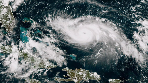 Hurricane Dorian to strike Florida, wind speed at 225kmph