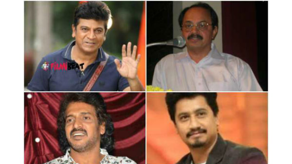 Kannada stars supports Karnataka Jobs For Kannadigas protest in Bengaluru